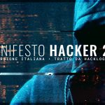 Hacker Manifesto 2.0 - Versione Italiana