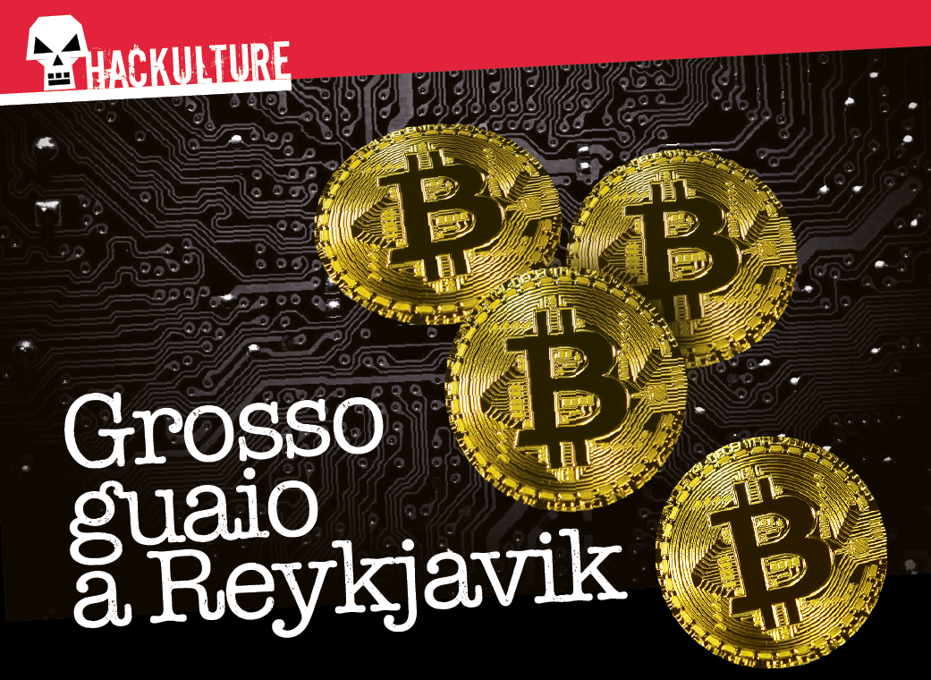 Furto di bitcoin in Islanda
