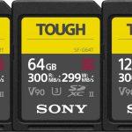 Sony serie SF-G TOUGH, le schede SD indistruttibili