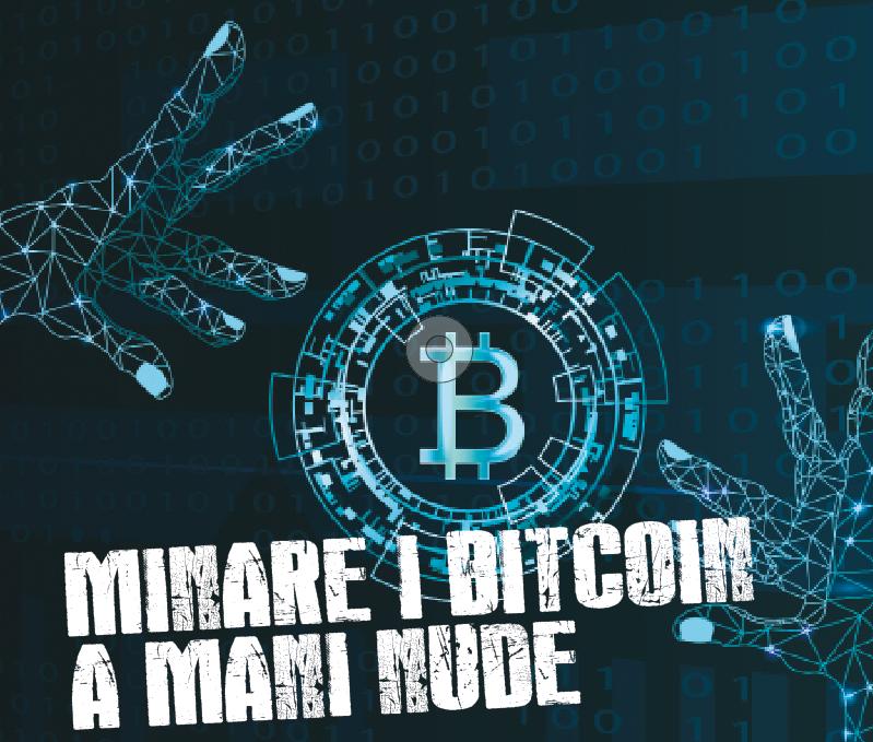 Minare bitcoin a mano
