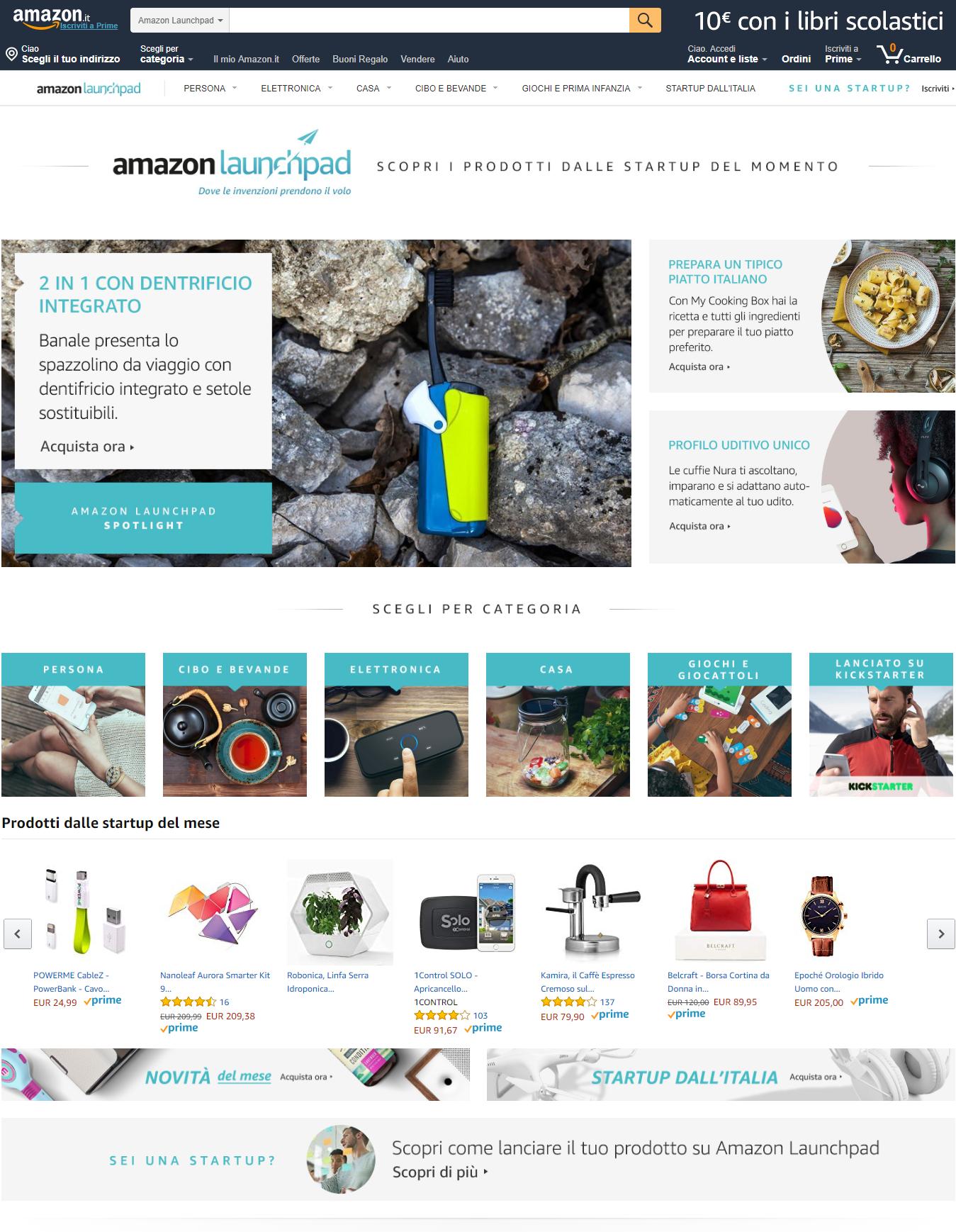 Amazon Launchpad Desktop