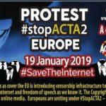 Anonymous e Attivisti contro gli articoli 11 - 13 della direttiva copyright