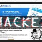Anonymous Italia attacca il sito Accademia Italiana della Privacy