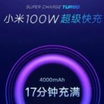 Xiaomi 100W Super Charge Turbo , carica completa in 17 minuti
