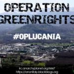 Anonymous Italia lancia l'operazione #OPLucania - contro le trivelle