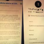 Nei Dispositivi Android compare l'opzione di notifica Covid-19
